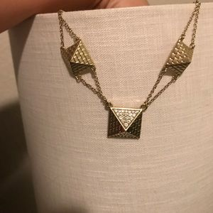 Pyramid necklace JewelMint